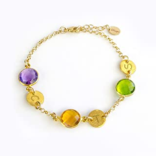 Best two birthstone bracelet Reviews