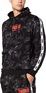 PUMA Men's CAMO PACK AOP HOODIE, Iron Gate/aop