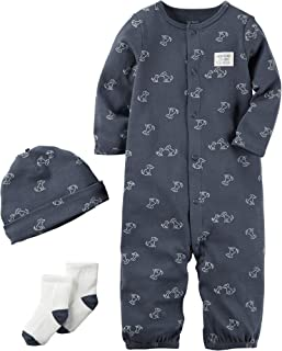 Carter's Baby Boys' 3 Piece Bodysuit Set