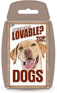 Winning Moves Top Trumps Dogs Card Game, Multi-Colour, TT024617