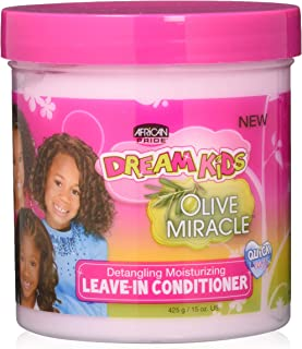 African Pride Dream Kids Leave-In Conditioner, Olive Miracle, 15 Oz (479159)