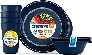 Preserve 20310, Everyday Tableware Set, Midnight Blue
