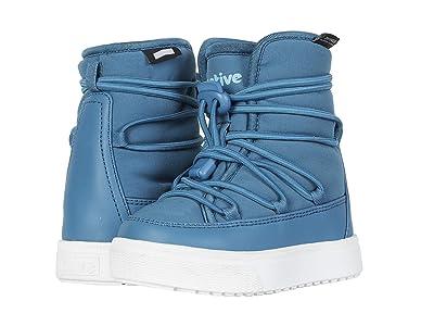 Native Kids Shoes Chamonix (Toddler/Little Kid) (Depth Blue/Shell White) Kids Shoes