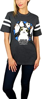 Star Wars Womens PORG Varsity Football Tee