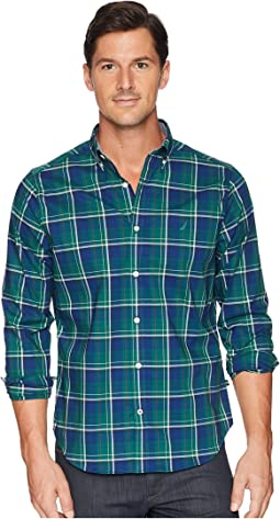 Long Sleeve Wear to Work Classic Plaid Shirt