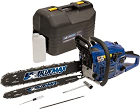 Blue Max 8902 14-Inch 45cc 2-Stroke Gas Powered Chain Saw With Free 20-Inch Bar