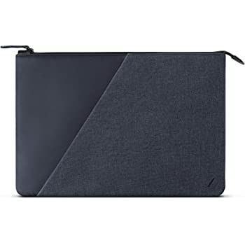"Native Union Stow 13"" MacBook Sleeve – Sleek & Slim 360-Degree Protection with Exterior Pocket – Compatible with MacBook Air 13"" (2014 & Later), MacBook Pro 13"" (2016 & Later)(Indigo)"