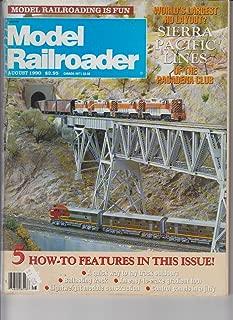 Model Railroader Magazine (August, 1990)