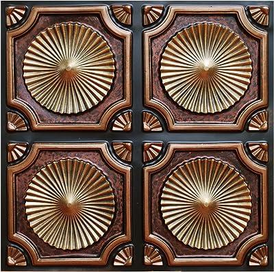 Amazon.com: Tierra y Fuego Juego de azulejos – cuatro (4) 6 ...