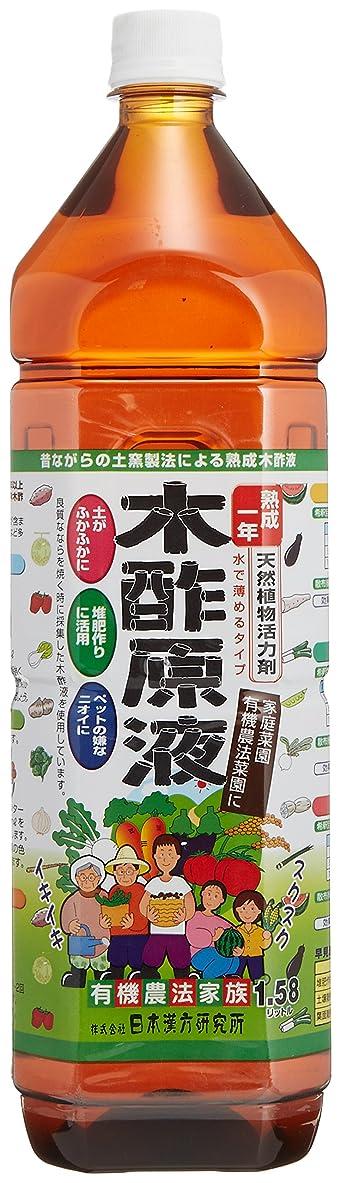 ワックスいま眉をひそめる木酢原液(農業用)1580ml