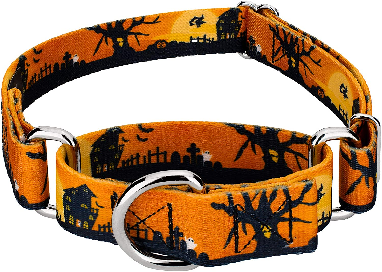 Dealing full price reduction Country Brook Design - Don't miss the campaign Martingale Halloween Dog Collar Collect