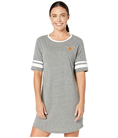 289c Apparel Texas Longhorns Betty T-Shirt Dress (Gray) Women