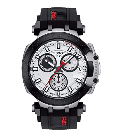 Tissot T-Sport T-Race Chronograph T1154172701100 (White) Watches