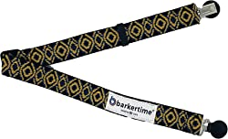 Barkertime Dog Diaper Suspender - Yellow Tribal Adjustable Suspender to Keep Dog Diapers On