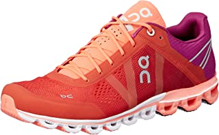 ON Women's Cloudflow Running Shoes, Spice/Flash