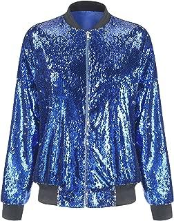 Best blue sequin jacket Reviews