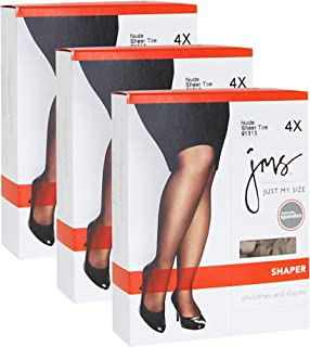 f8400e3f7ab Just My Size Women`s Set of 3 Shaper with Silky Leg - Best-
