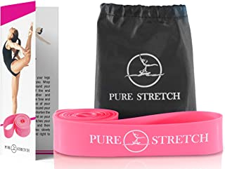 Dance Stretch Band Combo - Pure Stretch - Best Stretch Band for Ballet, Dance, Gymnastics, Resistance, Yoga, Pilates, Physical Therapy, Flexibility. Combo Includes Travel Bag + Pure Stretch Guide