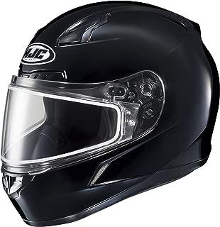 HJC CL-17 Snowmobile Helmet Dual Lens Gloss Black Size Large