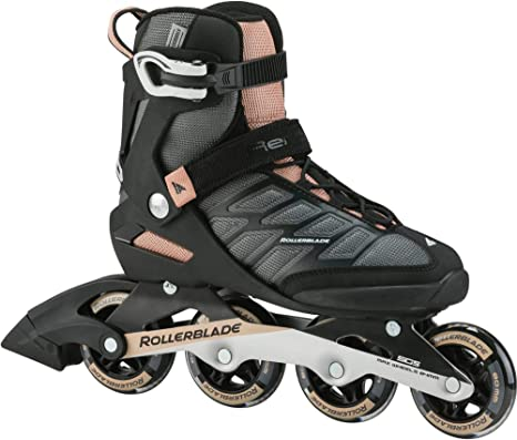 Rollerblade MACROBLADE 90 W Inline Skate 2021 Neutral Grey//Paradise Pink