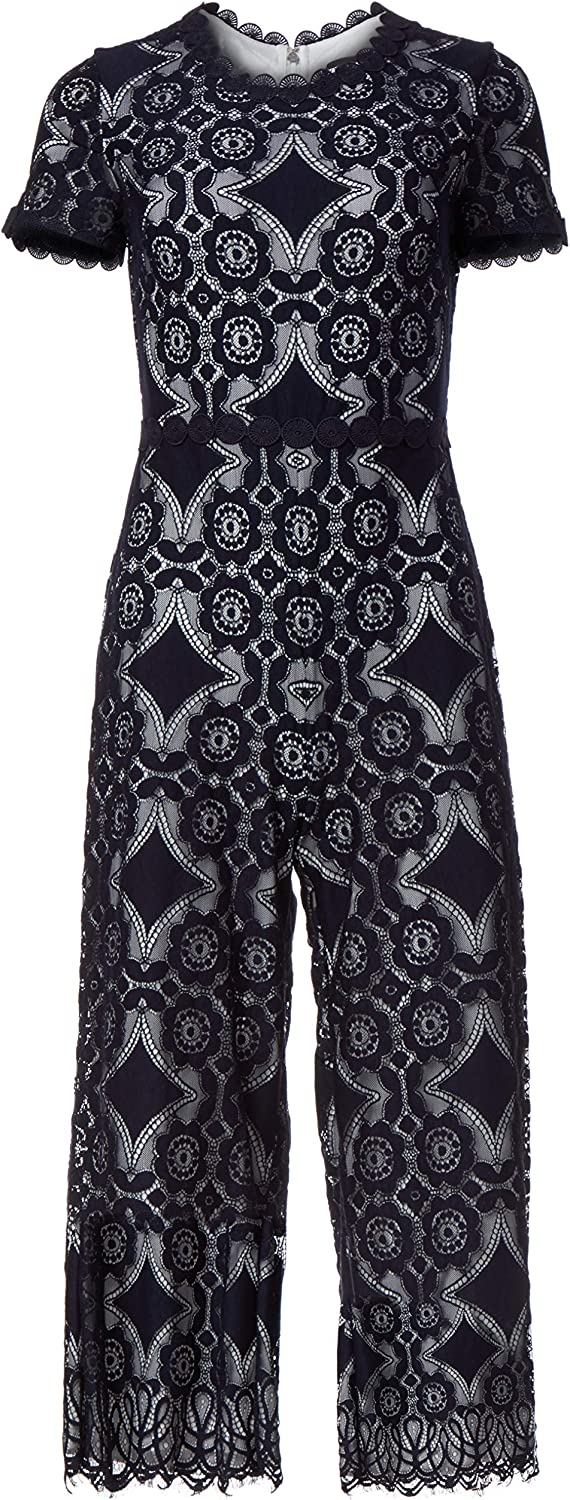 Karl 67% OFF of fixed price Lagerfeld Paris Women's Jumpsuit Lace Cheap bargain