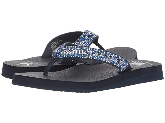 Yellow Box  Soriano (Blue) Womens Sandals