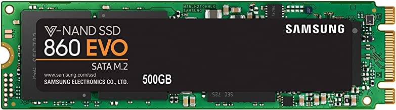 Samsung EVO M.2 - Disco Estado Solido SSD (500 GB, 550 megabytes/s) Color Negro