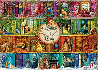 Jigsaw Puzzles 1000 Pieces for Adults Kids, Garden Landscape Puzzles Game for Adults Teens Puzzles