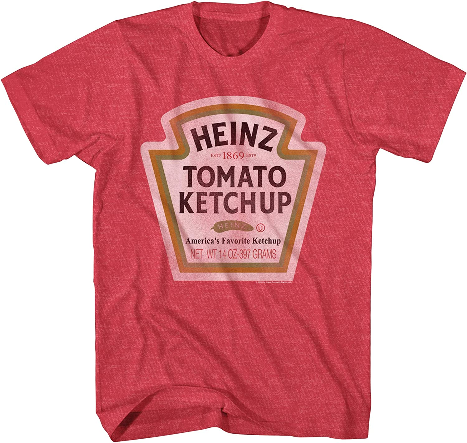 Mad Engine A surprise price is realized Heinz Max 80% OFF Ketchup Bottle Retro Funny Vintage Logo Classic