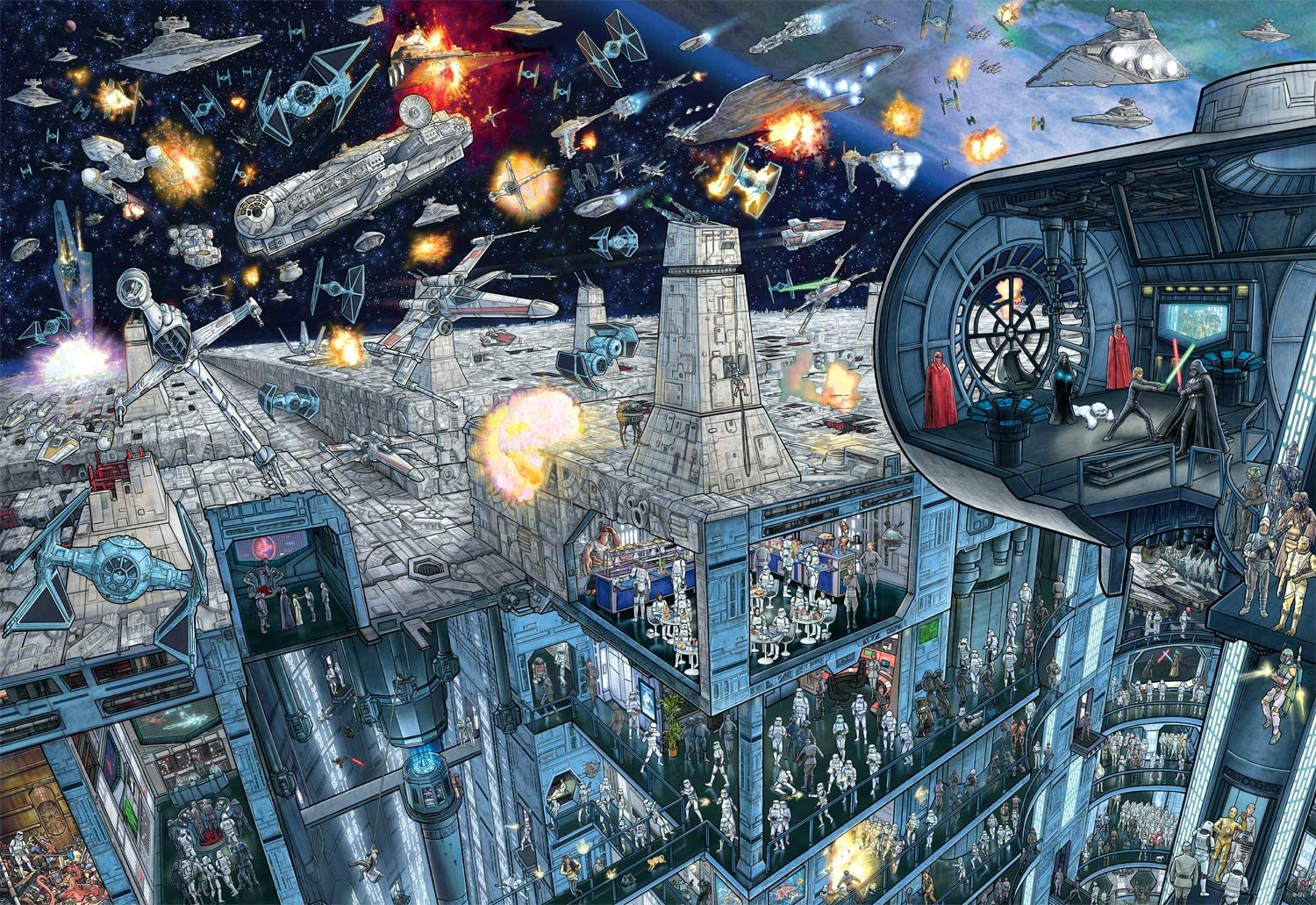 Star Wars Raleigh Sale SALE% OFF Mall - Search Inside: 2000 Jigsaw Puzzle Piece Death