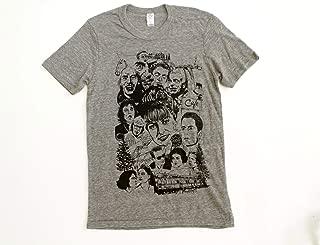 TWIN PEAKS tri-blend artist drawn t-shirt