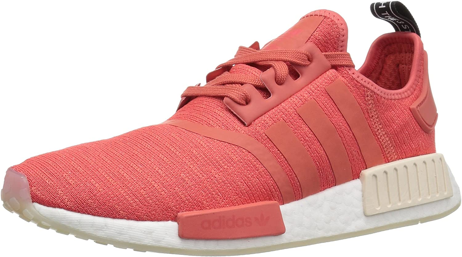 Adidas ORIGINALS Women's NMD_R1 Running shoes, Trace Scarlet White, 11 M US