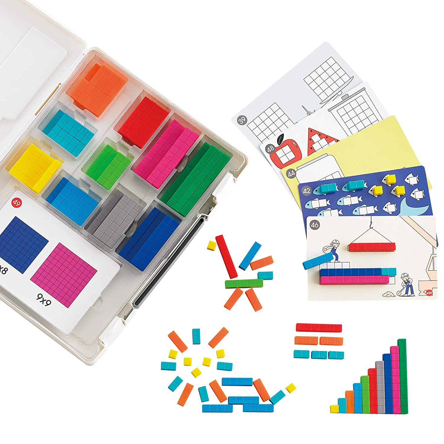 edxeducation 5% OFF Number Rods to Go - Hands-on Manipulative Under blast sales for Math