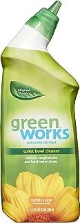 Green Works Toilet Bowl Cleaner, Toilet Gel Cleaner - 24 Ounces