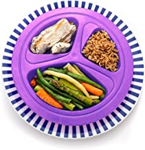Portions Master Plate | Diet Weight Loss Aid | Food Management & Servings Control (125lb / 57kg)