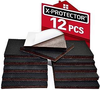 """Non Slip Furniture Pads X-PROTECTOR – Premium 12 pcs 3"""" Furniture Pad! Best Furniture.."""