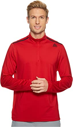 Poly Blend Performance 1/4 Zip