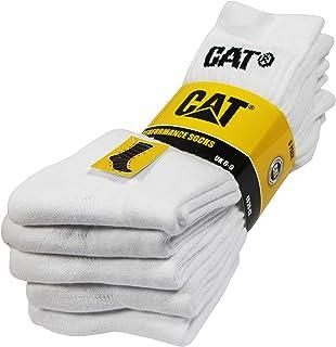 Performance Socks 5 pares de calcetines para hombre, hilo de algodón de excelente calidad, plantilla y empeine de felpa, puntera y talón reforzados