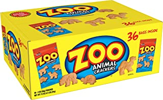 Austin, Zoo Animal Crackers, Resale Display, 72 oz (36 Count)