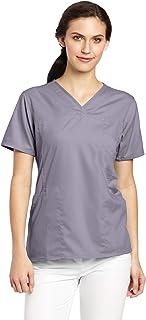 Carhartt Women's Scrubs Workflex 4 Pocket Y-Neck Top