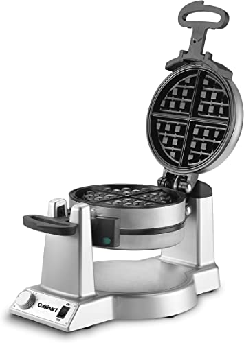 """lowest Cuisinart WAF-F20P1 online sale Waffle Iron, 15.5""""(L) x 9.75""""(W) x 9.3""""(H), discount Stainless Steel online"""