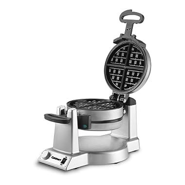 Cuisinart WAF-F20 Double Belgian Maker Waffle Iron, Silver