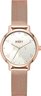 DKNY Women's Quartz Watch analog Display and Stainless Steel Strap, NY2817