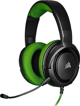 Corsair HS35 Stereo Cuffie Gaming con Microfono Unidirezionale Rimovibile, Altoparlanti in Neodimio da 50 mm, Compatibili con PC, Xbox One, PS4, Nintendo Switch e dispositivi Mobile, Verde - Trova i prezzi più bassi