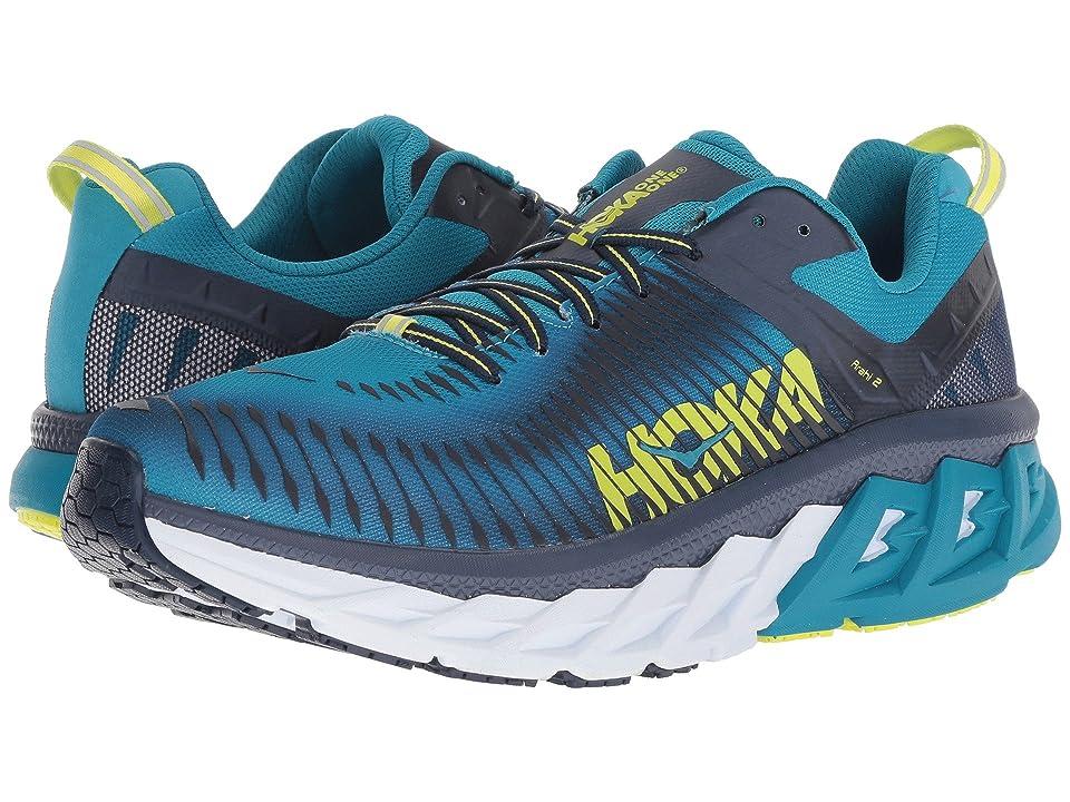 ef4abbf3ca5 Hoka One One Arahi 2 (Caribbean Sea Dress Blue) Men s Running Shoes