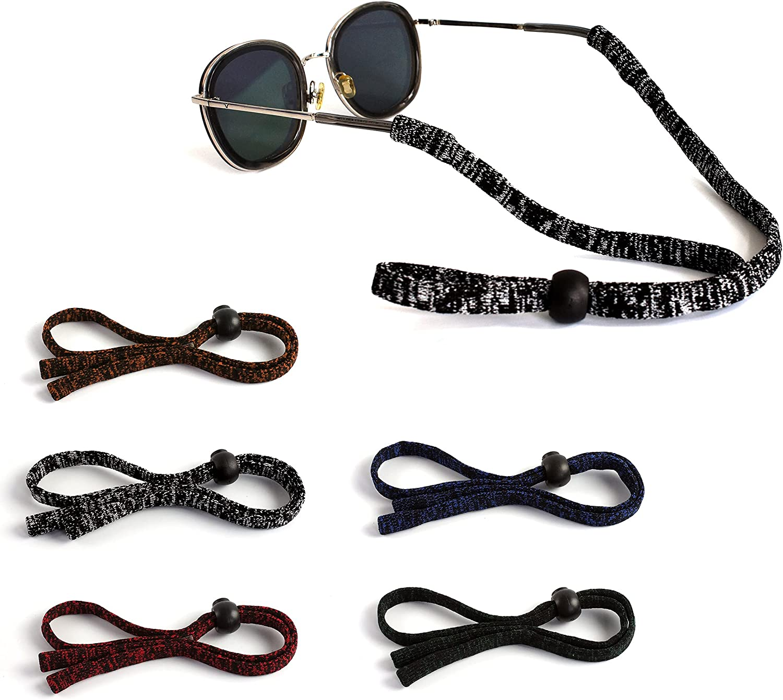 HALUNHL Sunglasses Straps,eyeglasses bands, Excellent Eyewear Retainer Strap for Men and Women
