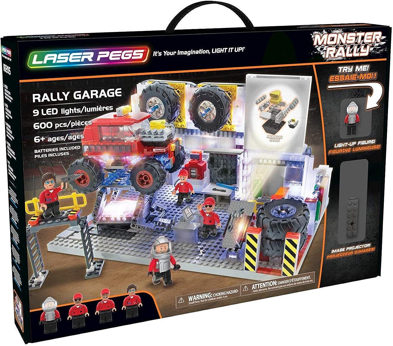 Laser Pegs 18205 - Baule Rtuttiy Garage