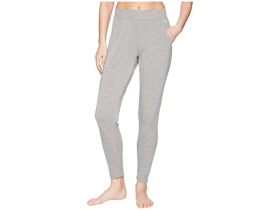 Jockey Active Skinny Tapered Pants (Light Charcoal) Women's Casual Pants