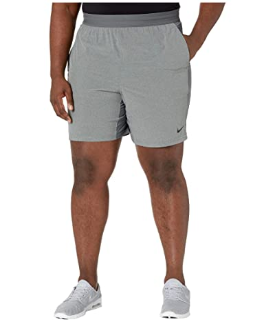 Nike Big Tall Flex Shorts Active (Iron Grey/Grey Fog/Black) Men