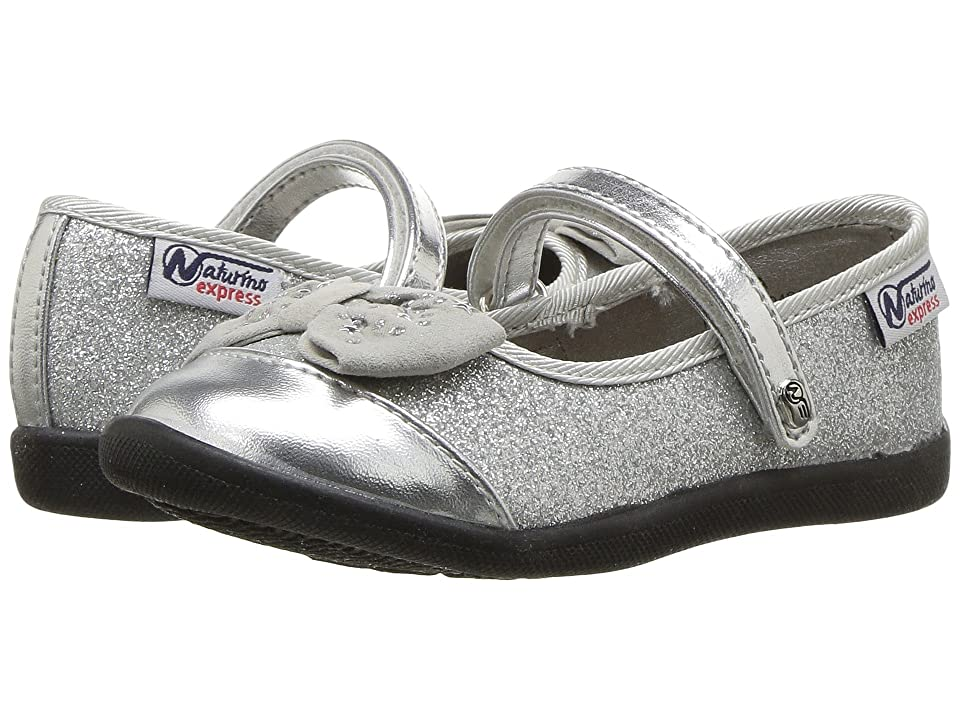 Naturino Express Luciana (Toddler/Little Kid) (Silver) Girls Shoes